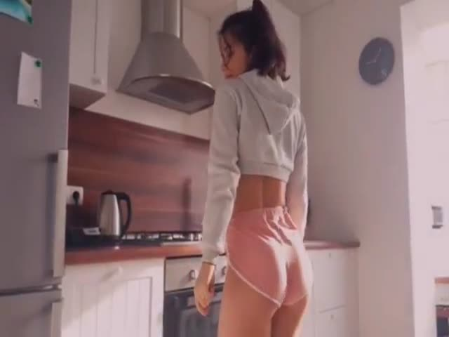 She's Just Heating Up The Breakfast