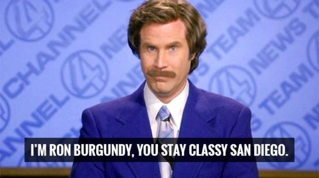 Ron Burgundy Will Keep Your Style At An All Time High