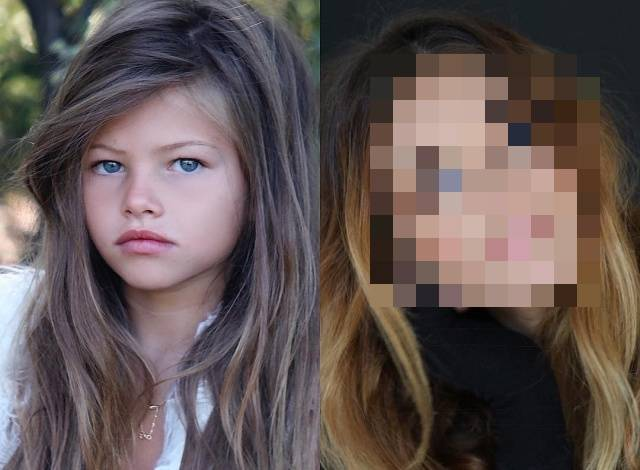 "Thylane Blondeau, Who Was Called ""Most Beautiful Girl In The World"", In A 10-Year Challenge"
