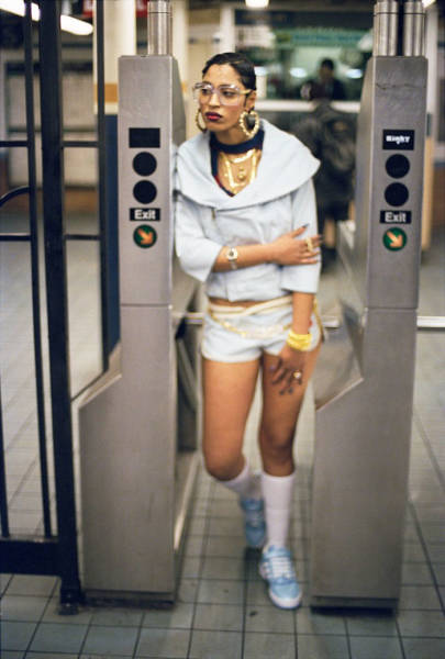 Jamel Shabazz And His Inside Look On The New York's Metro Of The 80's