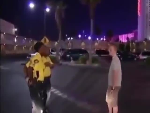 Don't Act Tough When Facing The Police