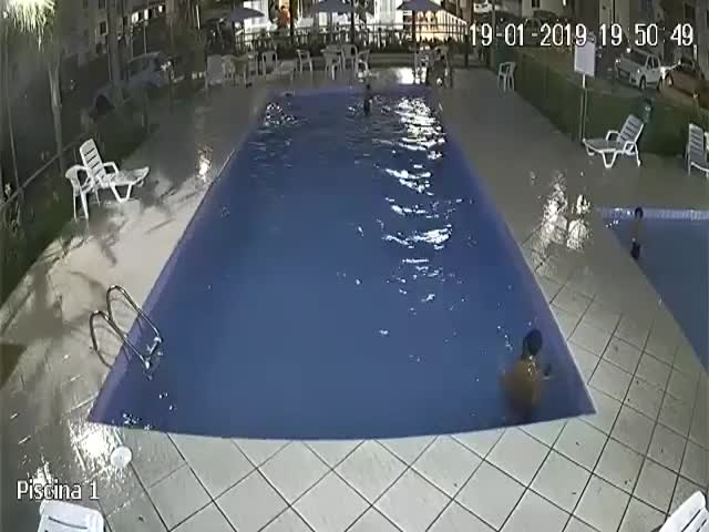 Never Leave Your Kids Near Deep Pools