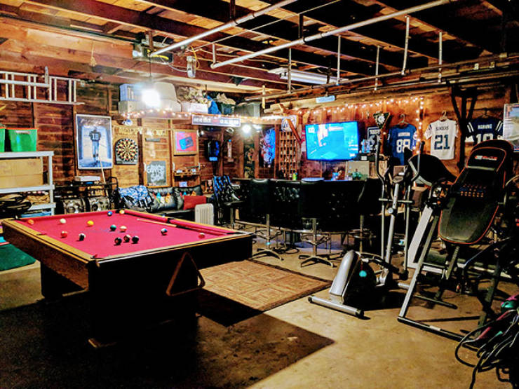 Man Cave Is The Most Important Part Of The House!