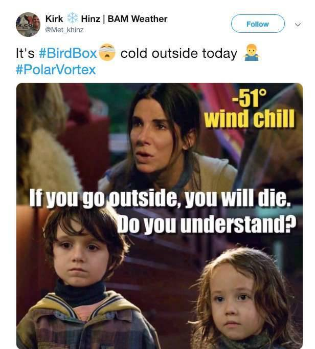 Americans Keep Their Cool With The Polar Vortex Around Them