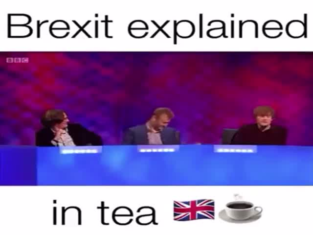 A Simple Explanation Of Brexit…