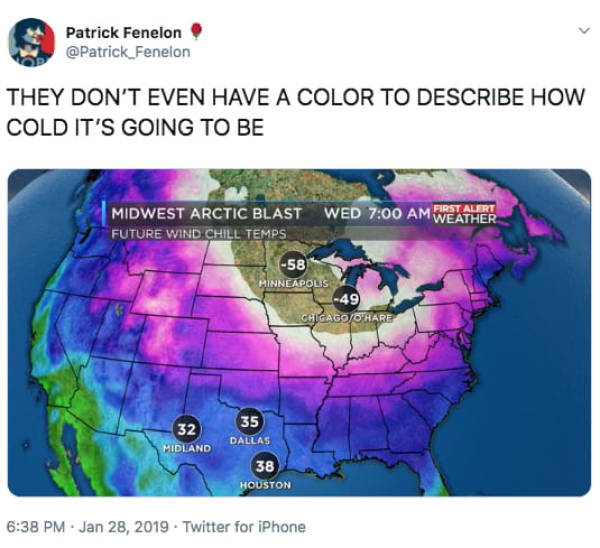United States Are Doing Their Best To Survive The Insane Polar Vortex