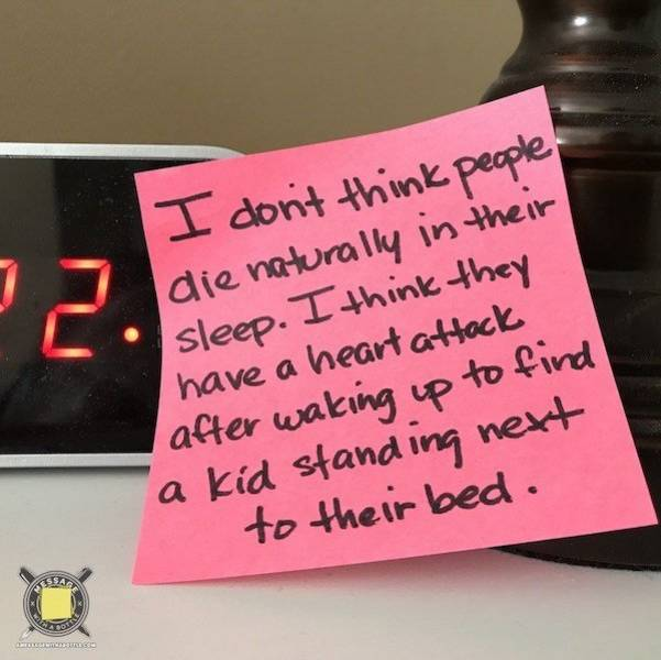 Dad Nails Parenting With His Post-It Notes