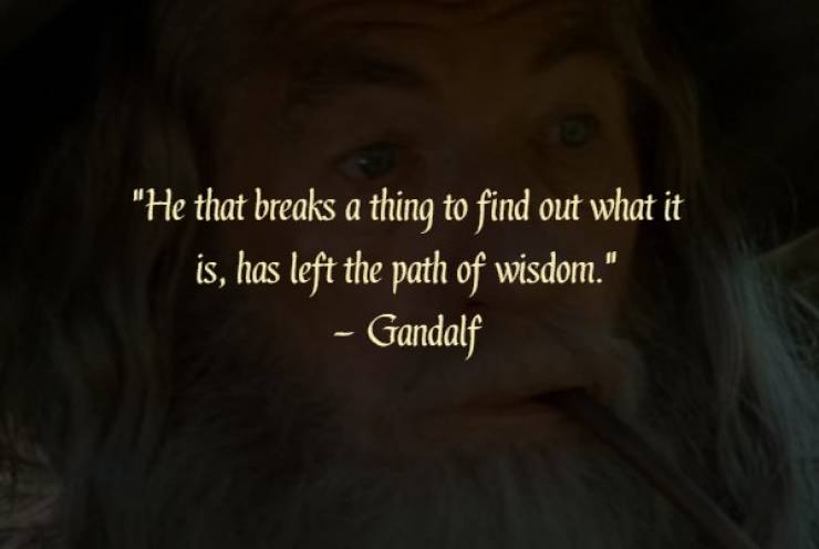 """""""The Lord Of The Rings"""" Is Also Famous For Its Wise Quotes"""