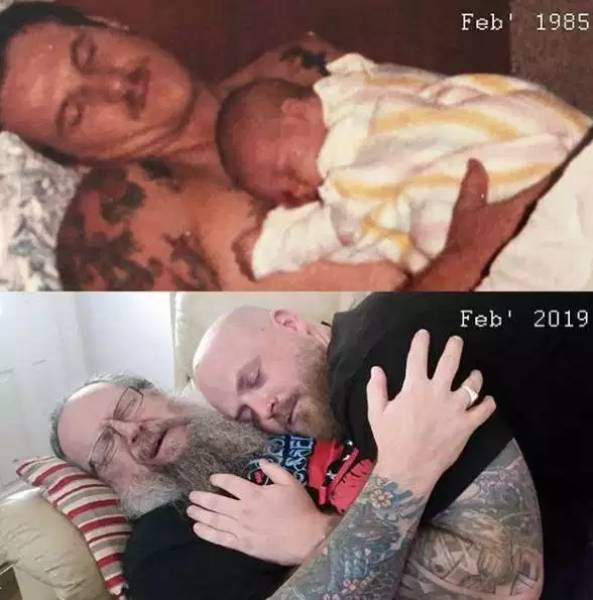 Recreating Childhood Pictures Is Almost Like Time Traveling