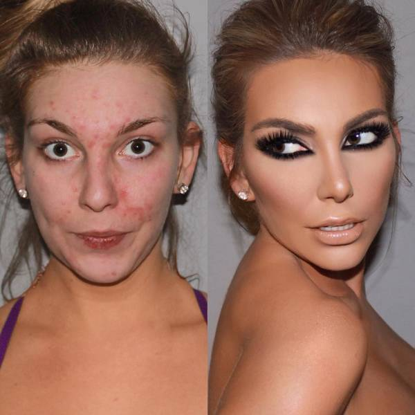 The Real Power Of Makeup