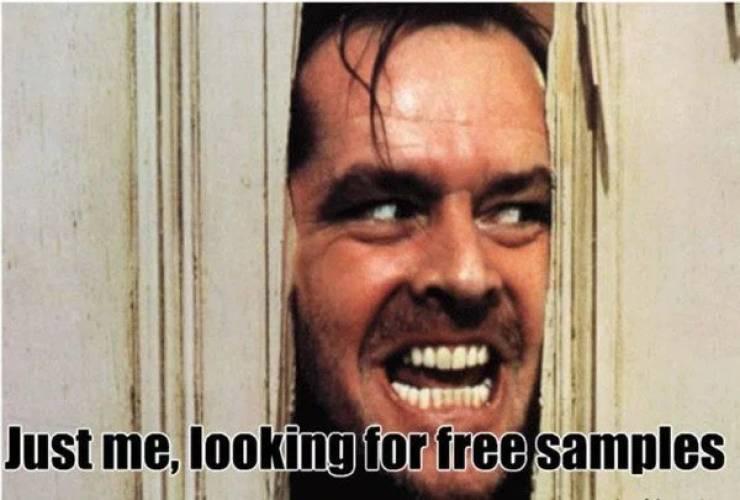Free Costco Meme Samples!