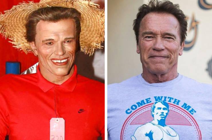 Celebrity Wax Figures Aren't Always Very Similar To Their Prototypes