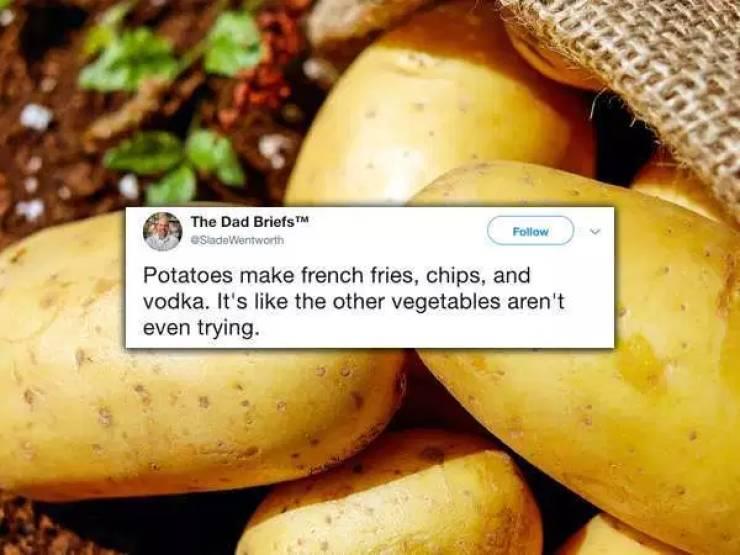Food Is Great Tweet Material