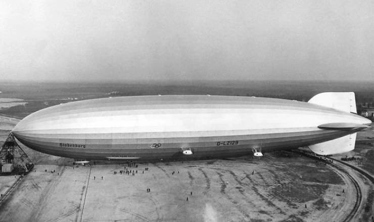 Hindenburg, The End Of The Era Of Zeppelins