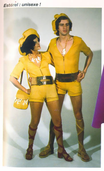 His-And-Hers Fashion From The 70's Is Way Too Weird For The Modern Eye