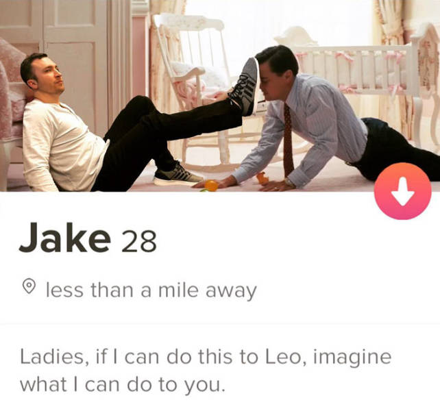 This Guy Just Can't Stop Creating Funny Tinder Profiles!