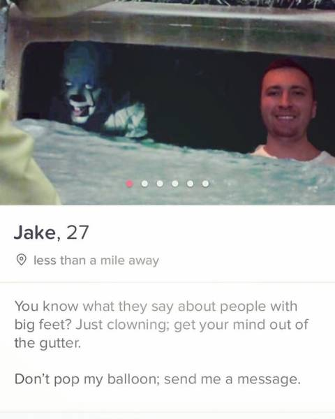 This Guy Just Can't Stop Creating Funny Tinder Profiles! (30 pics