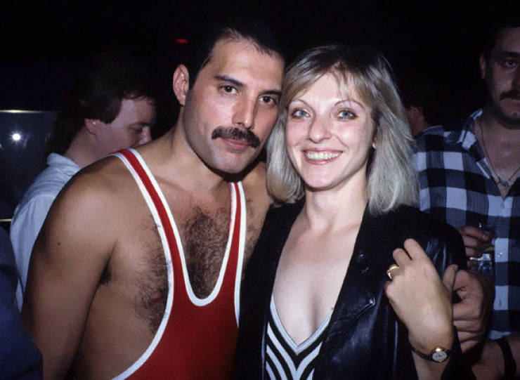 Freddie Mercury With His Only Friend And Love – Mary Austin