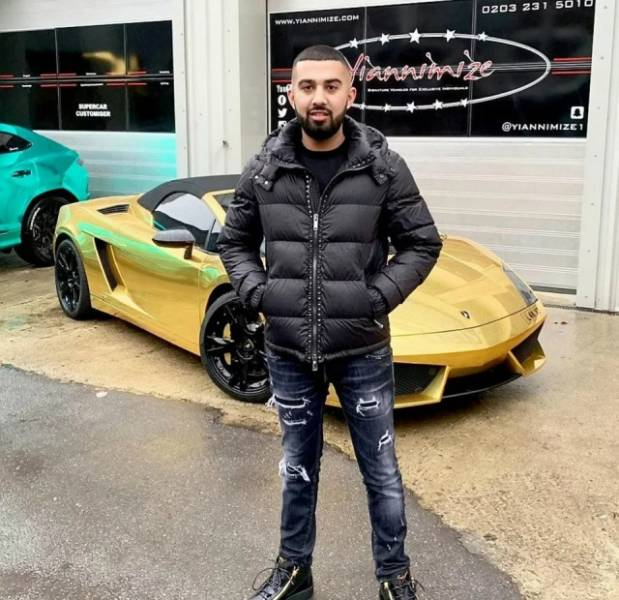 When Your Precious Gold Lamborghini Goes Up In Flames
