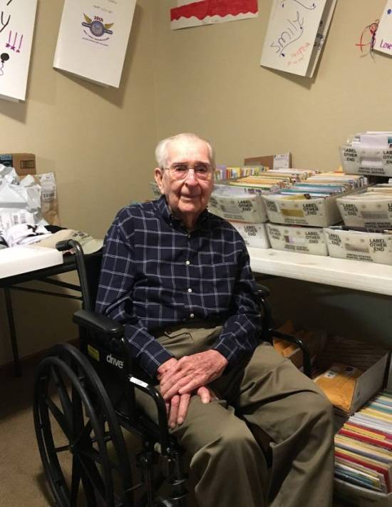 World War II Veteran Asks For A Small Present For His 100th Birthday