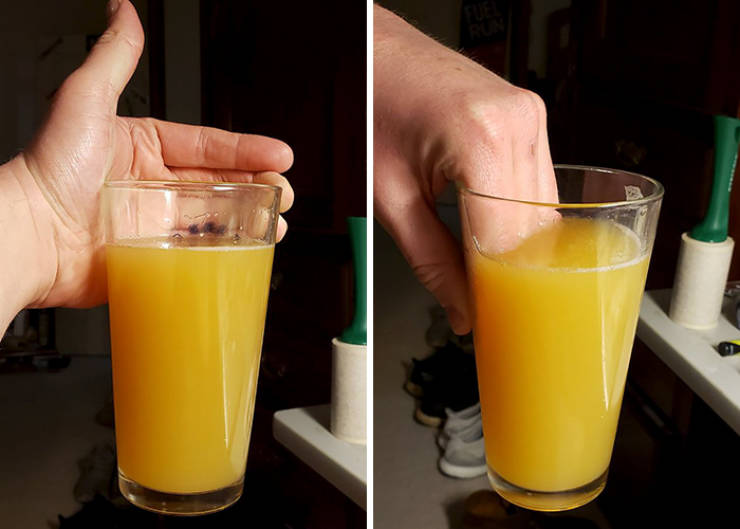 Internet Finds The Worst Ways To Hold Your Drink