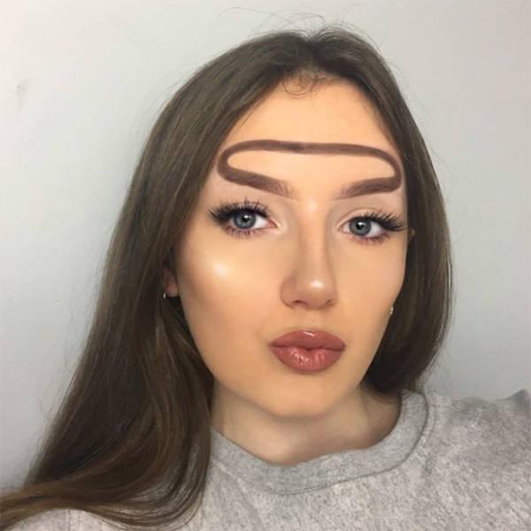 Eyebrows – 1. Women – 0.