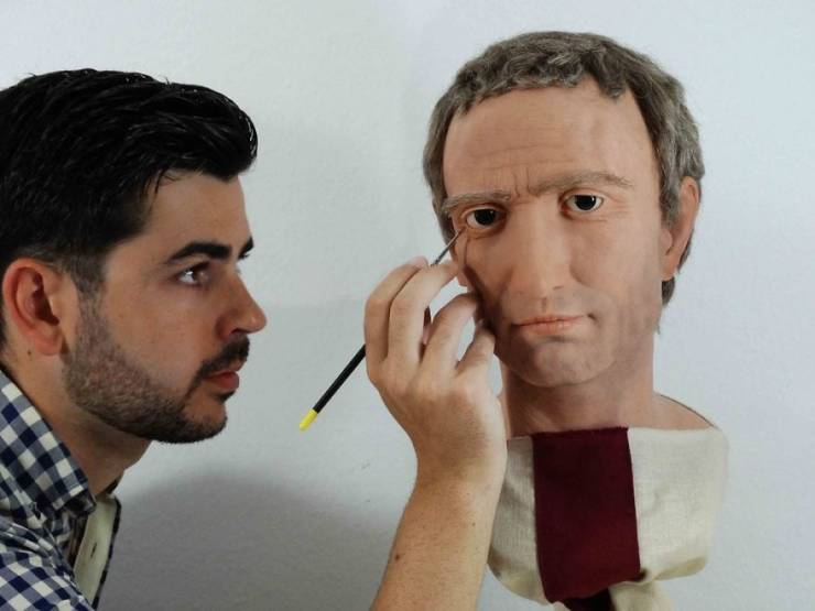 Italian Artist Brings Roman Emperors Back To Life