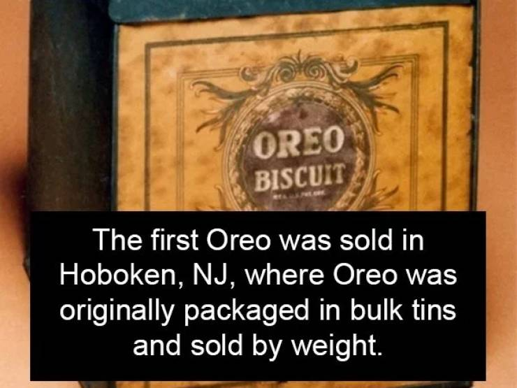 Some Sweet-Sweet Oreo Facts