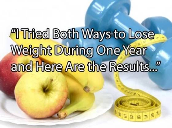 What's Better For Weight Loss – Diet Or Exercise?