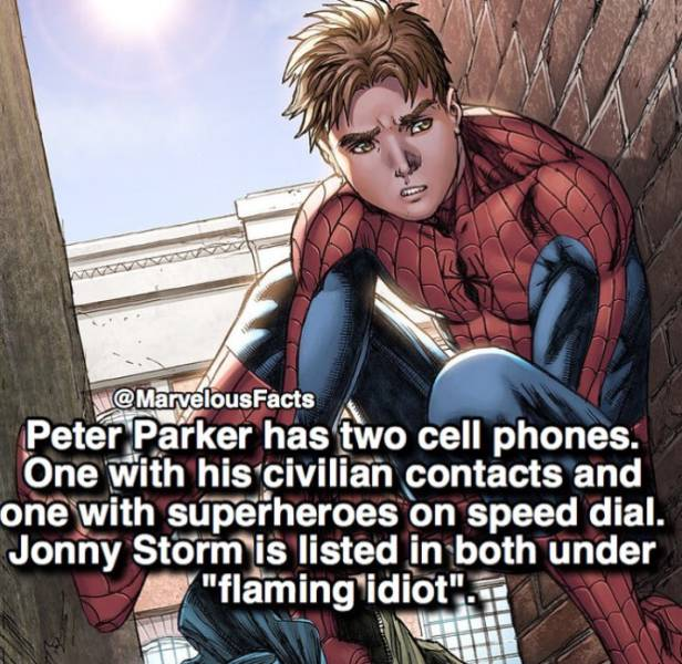 Action-Packed Facts About Marvel Superheroes