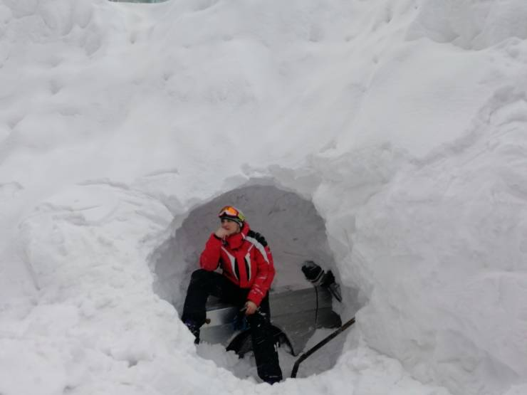 In Norilsk, Russia, Snow Caves Are A Necessity