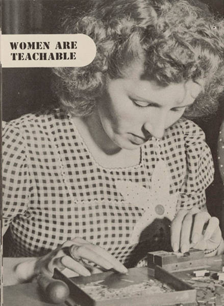 """Women Are Teachable"" (1940's Edition)"