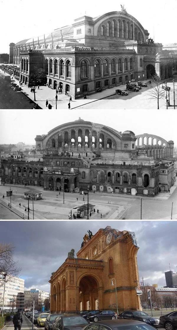 A képek az építészeti darabok egyik utolsó emlékeztetője