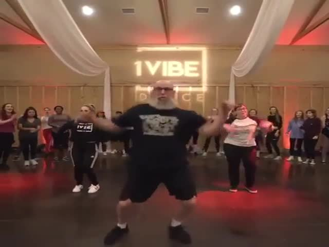 Be Careful, This Dad Might Burn The Dancefloor!