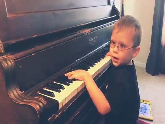 "Fantastic ""Bohemian Rhapsody"" By A 6-Year-Old, Blind Boy"