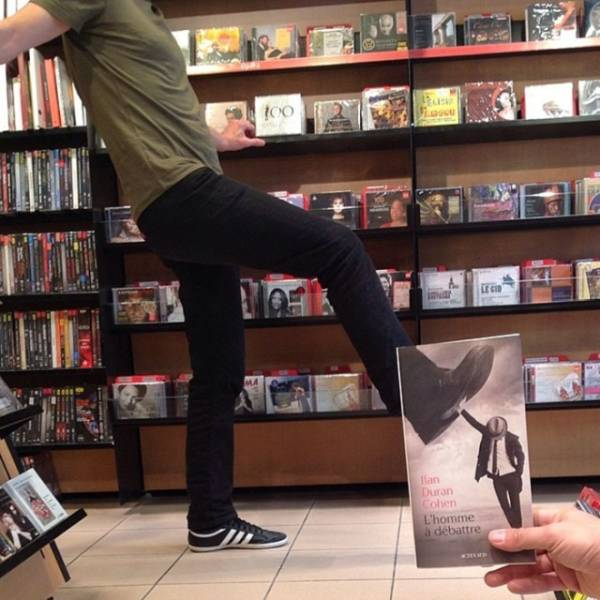 Bookstore Employees Still Have To Entertain Themselves