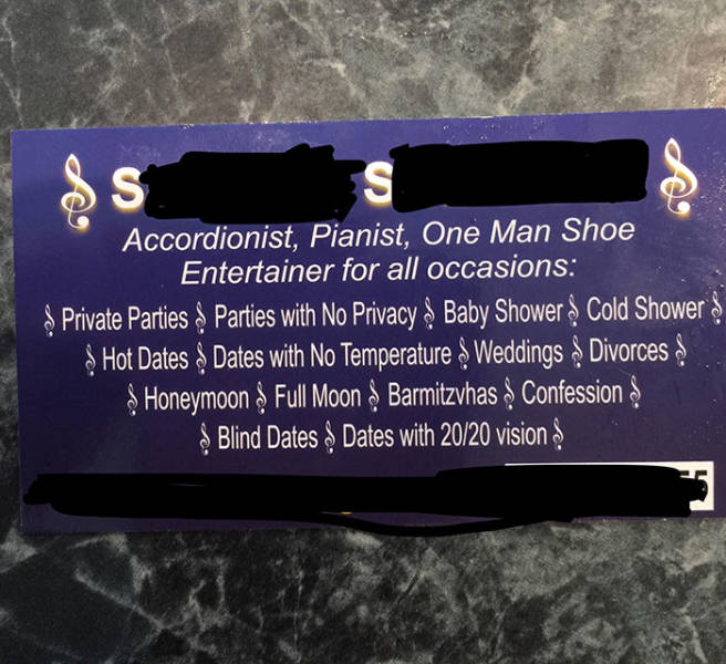 Business Cards That Couldn't Be More Original