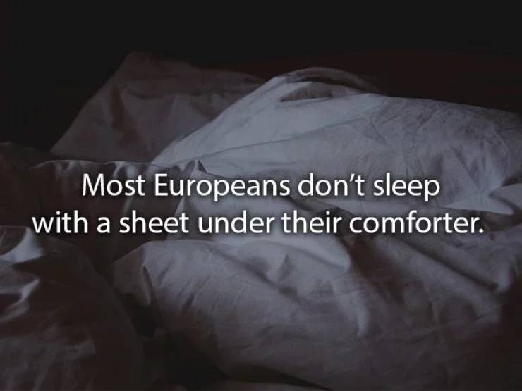 Every Country Sleeps Differently