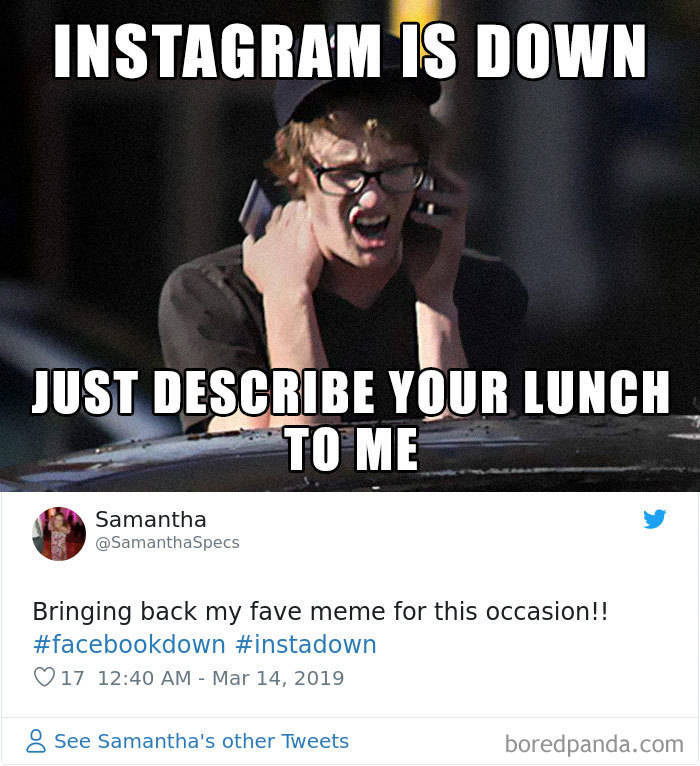 Instagram And Facebook - Down. Memes - Up (32 pics ...