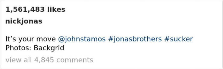 Nick Jonas And John Stamos Are In Contention For The Troll Bromance Of The Year