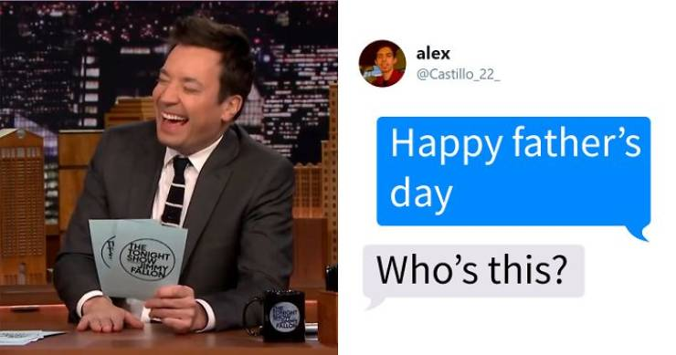 Jimmy Fallon Strikes With A #MyAwkwardTexts Challenge