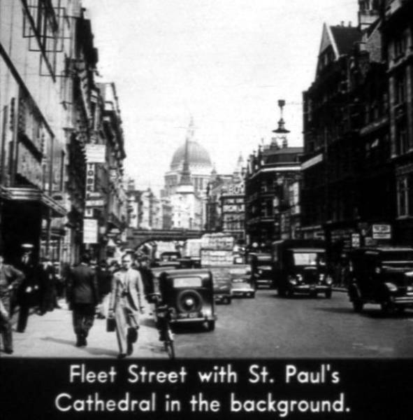 London Was Different Back In The 1930