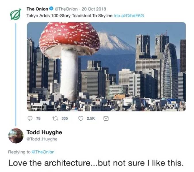 "Believing ""The Onion"" Is Not A Great Idea…"