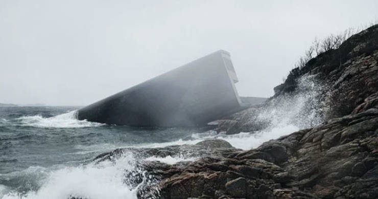 Norway Now Has The First And The Largest Underwater Restaurant