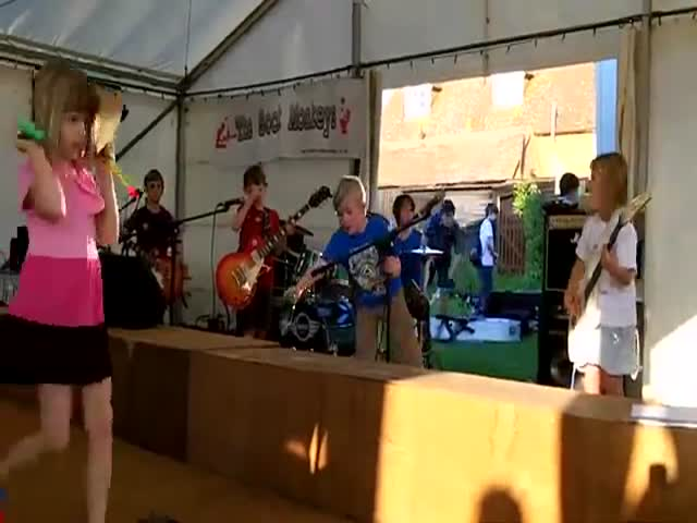 These 8-Year-Olds Are A Promising Heavy Metal Band