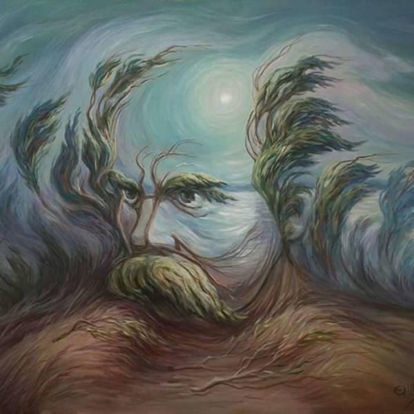 optical famous illusions artist uses past draw masterfully ukrainian izismile