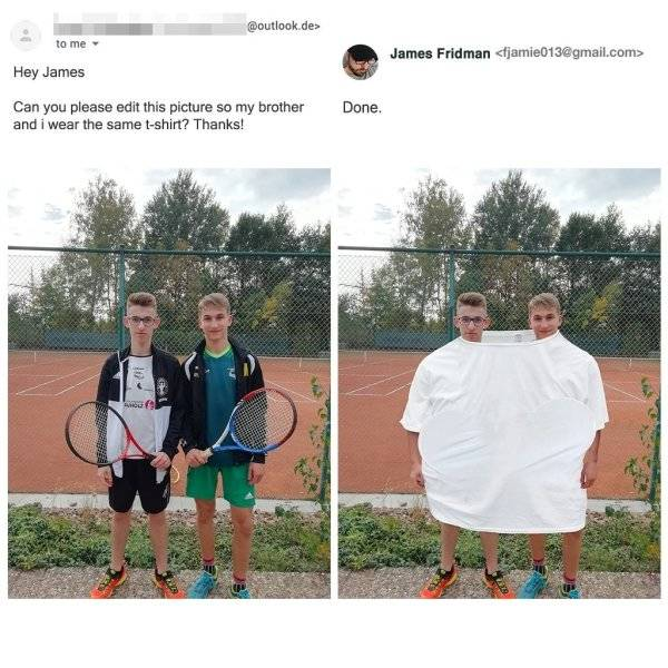 James Fridman Always Delivers The Best Photoshops