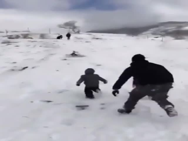 Dad Saves The Day!