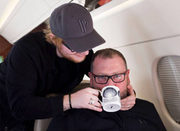Ed Sheeran's Bodyguard's Instagram Account Is Becoming Very Popular, And For A Good Reason