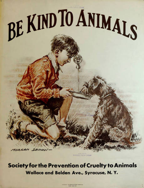 These Posters About Kindness To Animals From The Age Of The Great Depression Are Still Very Much Relevant